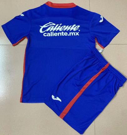 Cruz Azul 20/21 Home Soccer Jersey and Short Kit