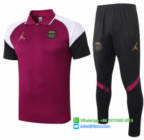 PARIS SAINT-GERMAIN 20/21 Polo and Pants - C498
