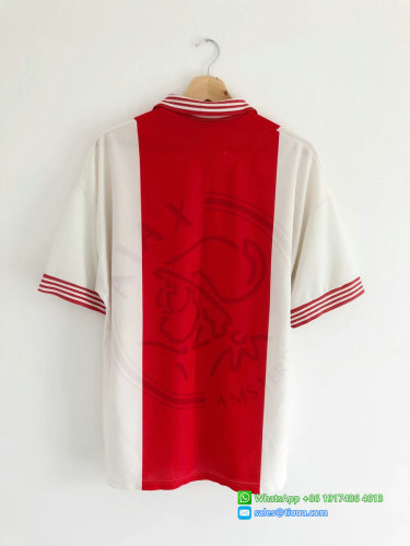 Ajax 1995/96 Home Retro Jersey