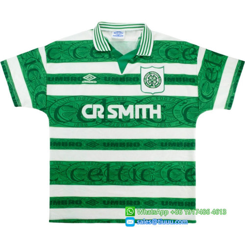 Celtic 1995-1997 Di Canio Home Retro Jersey