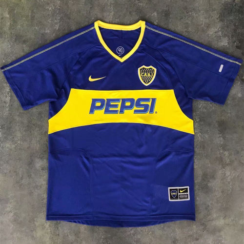 Boca Juniors 2003-2004 Home Retro Jersey