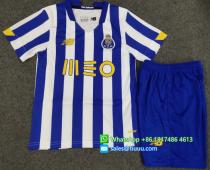 FC Porto 20/21 Kids Home Soccer Jersey and Short Kit