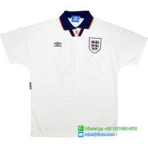 England 1993-94 Home Retro Soccer Jersey