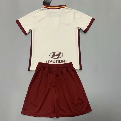 AS Roma 20/21 Kids Away Soccer Jersey and Short Kit