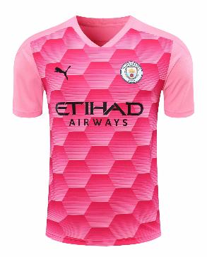 Thai Version Manchester City 20/21 Goalkeeper Soccer Jersey