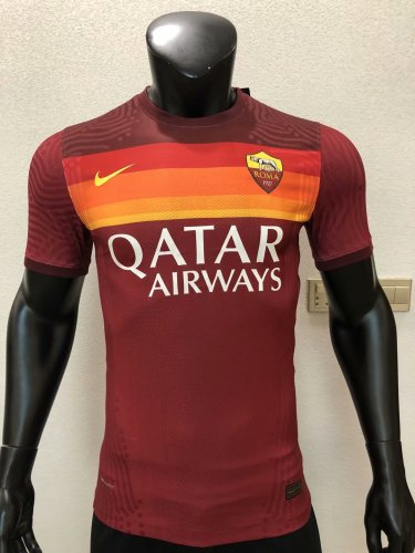Player Version AS Roma 20/21 Home Authentic Jersey