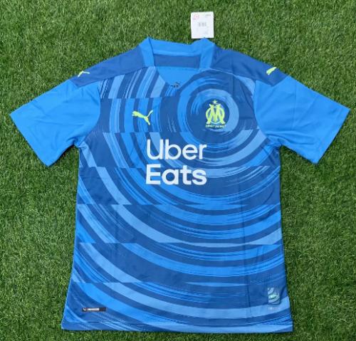 Thai Version 20/21 Olympique Marseille Third Soccer Jersey