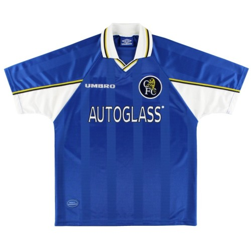Chelsea 1997/1999 Home Retro Jersey 4 Gullit