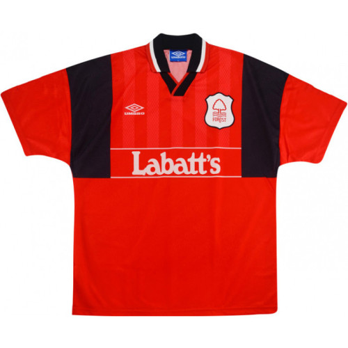 Nottingham Forest 1994-1996 Home Retro Jersey #10 Collymore