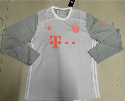 Thai Version Bayern Munich 20/21 Away LS Soccer Jersey