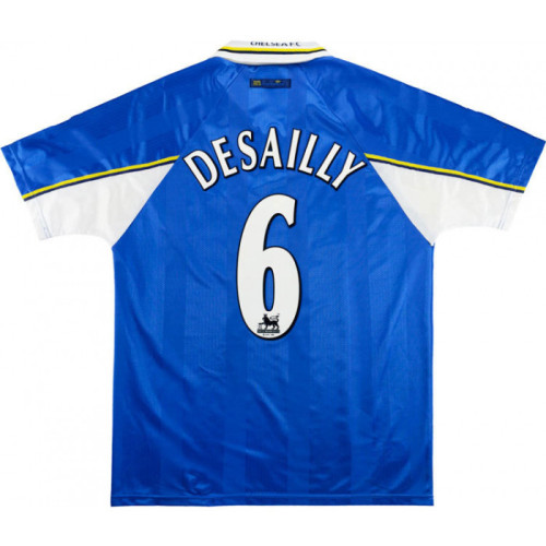 Chelsea 1997/1999 Home Retro Jersey 6 Desailly