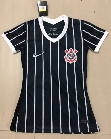 Thai Version Corinthians 2020 Women's Away Soccer Jersey