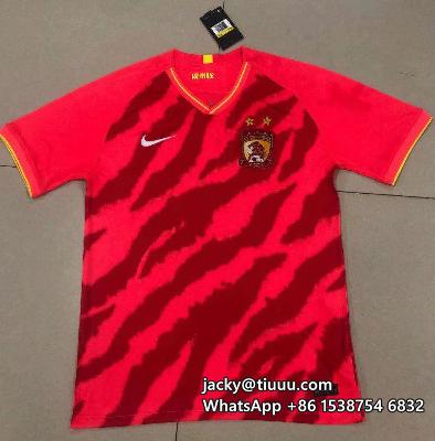 Thai Version Evergrande 2020 Home Soccer Jersey