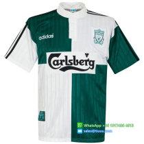 Liverpool 1995-96 Away Retro Football Jersey