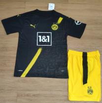 Borussia Dortmund 20/21 Away Soccer Jersey and Short Kit