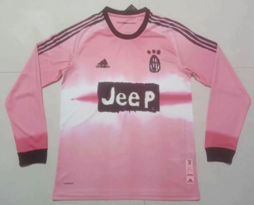 Thai Version Juventus 20/21 Joint Edition LS Soccer Jersey