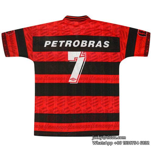 Flamengo 1995-96 Costa Centenary Home Retro Jersey