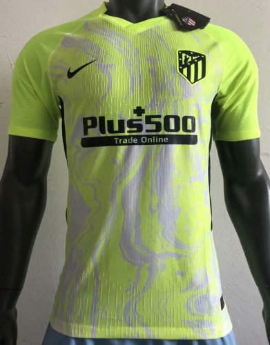 Player Version Atletico Madrid 20/21 Third Authentic Jersey