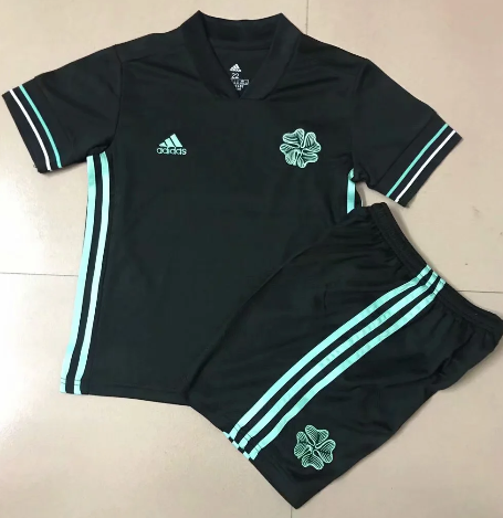 Celtic 20/21 Kids Third Soccer Jersey and Short Kit