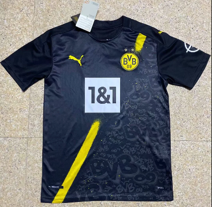 Thai Version Borussia Dortmund 20/21 Away Soccer Jersey
