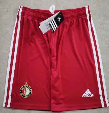 Thai Version Feyenoord Rotterdam 20/21 Away Soccer Shorts