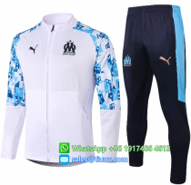 Olympique Marseille 20/21 Jacket and Pants - A354