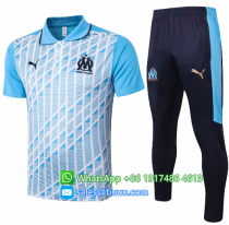 Olympique Marseille 20/21 Polo and Pants - C521
