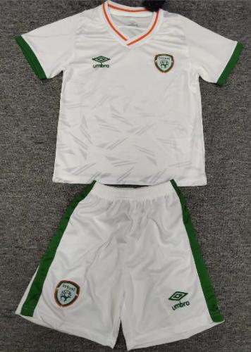 Ireland 2021 Kids Away Soccer Jersey and Short Kit