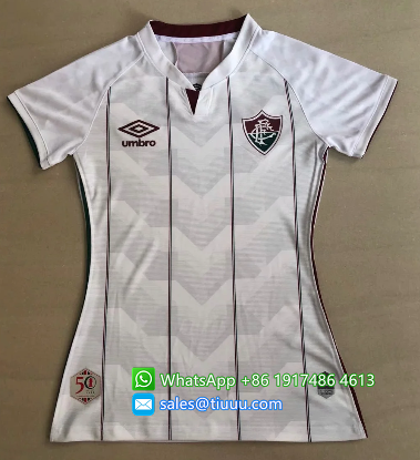 Thai Version Fluminense 2020 Women's Away Soccer Jersey