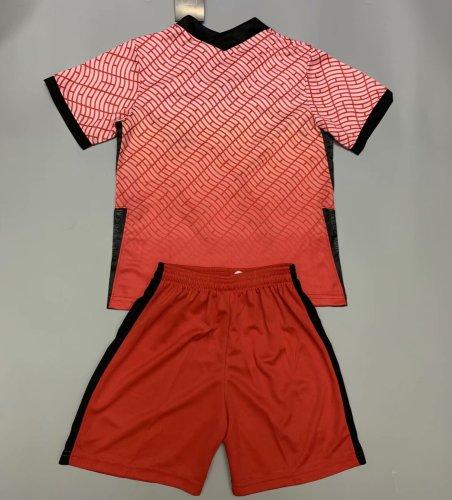South Korea 2020 Kids Home Soccer Jersey and Short Kit