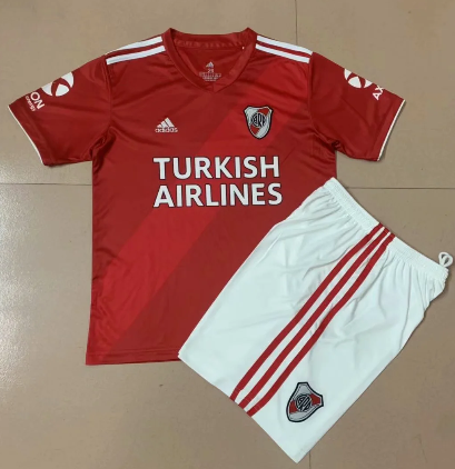 River Plate 2020 Away Soccer Jersey And Short Kit