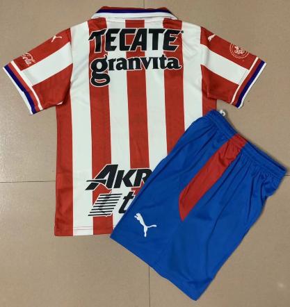 Chivas de Guadalajara 20/21 Home Soccer Jersey And Short Kit