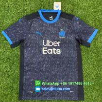Thai Version 20/21 Olympique Marseille Away Soccer Jersey