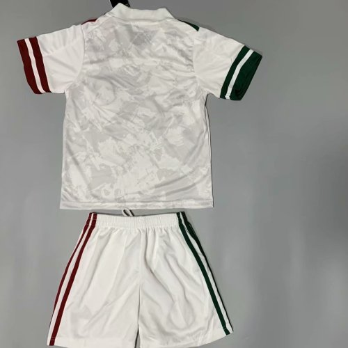 Mexico 2020 Kids Away Soccer Jersey and Short Kit