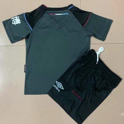 Burnley 20/21 Kids Away Soccer Jersey and Short Kit