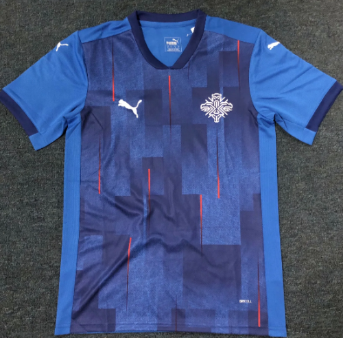 Thai Version Iceland 20/21 Home Soccer Jersey
