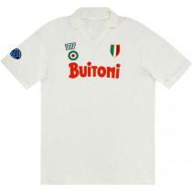 Napoli 1987-88 Away Retro Soccer Jersey