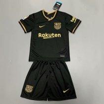 Barcelona 20/21 Kids Away Soccer Jersey and Short Kit