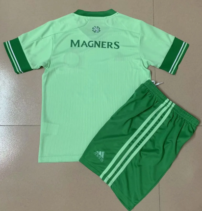 Celtic 20/21 Away Soccer Jersey and Short Kit