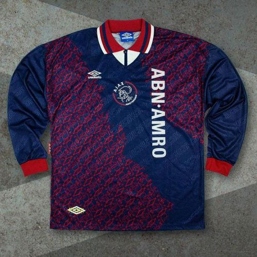 Ajax 1994-1995 Away Retro L/S Jersey