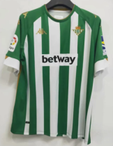 Thai Version Real Betis 20/21 Home Soccer Jersey