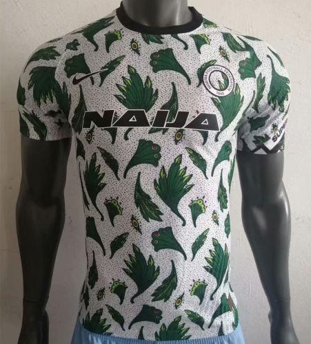 Player Version Nigeria 20/21 Pre-Match Authentic Jersey