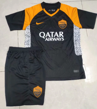 AS Roma 20/21 Third Soccer Jersey and Short Kit