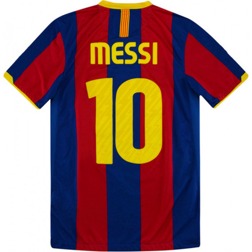 Barcelona 2010-2011 Home Retro Jersey 10 Messi