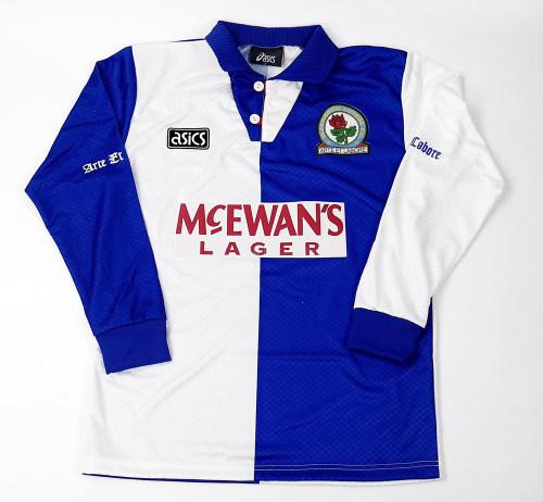 Blackburn 1994-1995 Home Retro L/S Jersey
