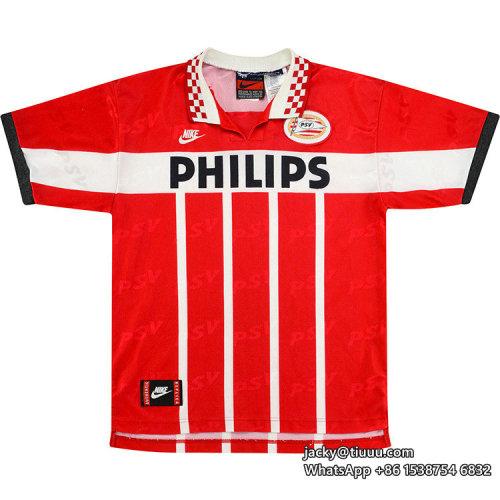 PSV 1995-1996 Home Retro Soccer Jersey