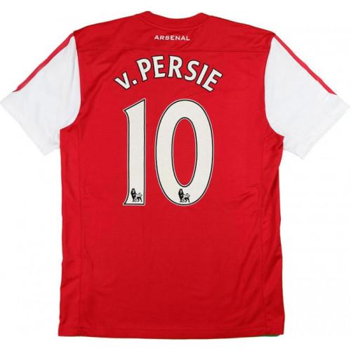 ARS 2011/12 Home Retro 125th Anniversary Jersey v.Persie #10