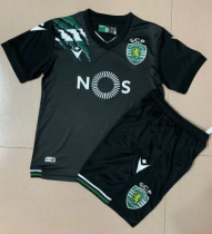 Sporting CP 20/21 Kids Away Soccer Jersey and Short Kit