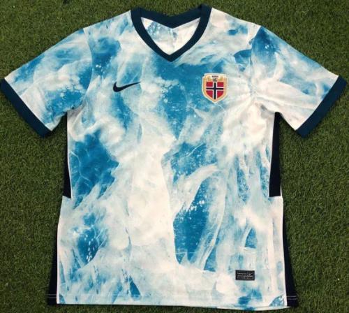 Thai Version Norway 2020 Away Soccer Jersey
