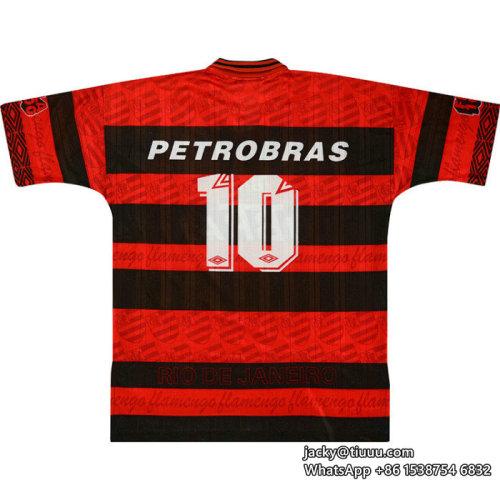 Flamengo 1995-96 Sávio Centenary Home Retro Jersey
